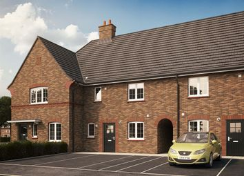 "Thumbnail 2 bedroom terraced house for sale in ""The Cranfield "" at Kiln Drive, Stewartby, Bedford"