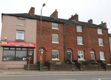 Thumbnail 4 bed town house for sale in Buxton Road, Leek, Staffordshire