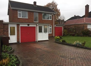 Thumbnail 3 bed detached house for sale in Corbett Road, Hollywood, Birmingham