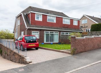 Thumbnail 3 bed semi-detached house for sale in Chester Close, Heolgerrig, Merthyr Tydfil