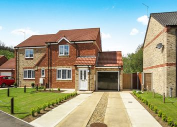 Thumbnail 2 bedroom semi-detached house for sale in Oaks Drive, Necton, Swaffham