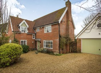 Thumbnail 4 bed detached house for sale in Knights Close, Debenham, Suffolk