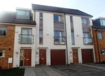 Thumbnail 4 bed town house to rent in Christie Lane, Salford, Lancashire