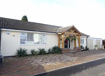 Thumbnail 2 bedroom detached bungalow for sale in Fieldway, Earl Shilton, Leicester