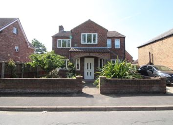 Thumbnail 4 bed detached house for sale in Front Street, Laxton, Goole