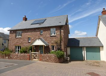 Thumbnail 4 bed detached house for sale in Meadow Close, Wheddon Cross, Minehead