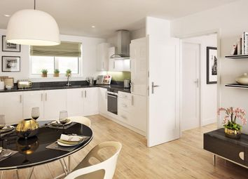 "Thumbnail 2 bedroom flat for sale in ""Ambersham"" at Lake Road, Hamworthy, Poole"