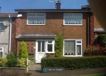 Thumbnail 2 bed terraced house to rent in Crown Rise, Cwmbran
