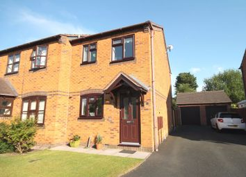 Thumbnail 2 bed semi-detached house for sale in Ridings Close, Market Drayton