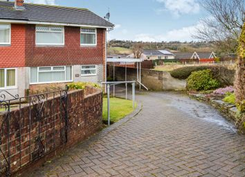 Thumbnail 3 bed semi-detached house for sale in Rolls Avenue, Penpedairheol, Hengoed