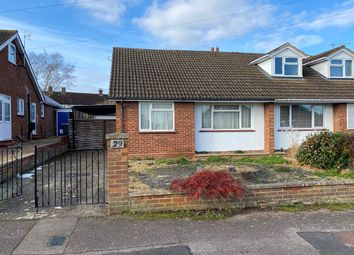 Thumbnail 2 bed semi-detached bungalow for sale in Wellingham Avenue, Hitchin