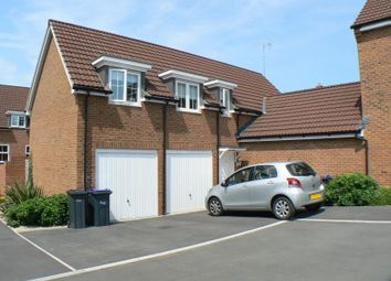 Thumbnail 2 bed link-detached house to rent in Red Lodge Close, Beaufort Park, Royal Wootton Bassett