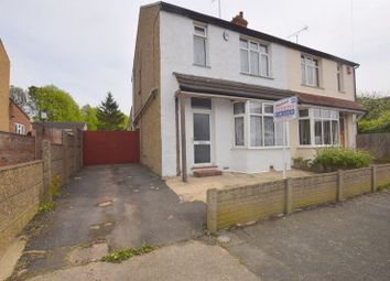 Thumbnail 3 bed semi-detached house for sale in Leon Avenue, Bletchley, Milton Keynes