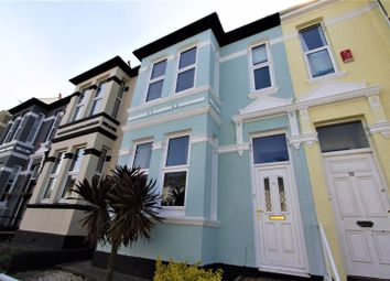 Thumbnail 3 bed terraced house for sale in Old Park Road, Peverell, Plymouth, Devon