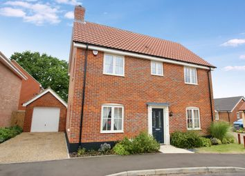 Thumbnail 3 bed detached house for sale in Trafford Way, Spixworth, Norwich