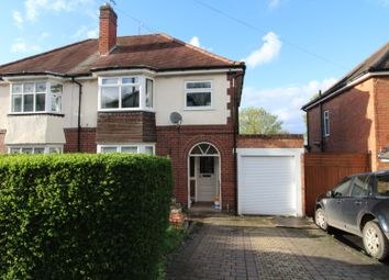 Thumbnail 3 bed semi-detached house for sale in Abbey Road, Redditch
