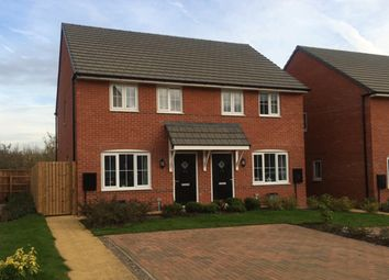 "Thumbnail 3 bedroom semi-detached house for sale in ""Finchley"" at Eldon Way, Crick Industrial Estate, Crick, Northampton"