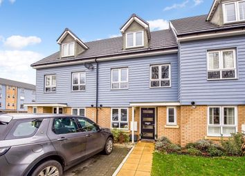 Thumbnail 3 bed end terrace house to rent in Kennett Lane, Chertsey