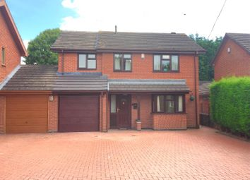 Thumbnail 4 bed detached house for sale in Dalston Road, Newhall, Swadlincote