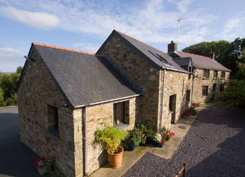 Thumbnail 5 bed farmhouse for sale in Velindre, Crymych