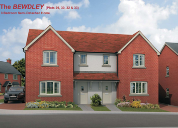 Thumbnail 3 bed semi-detached house for sale in The Bewdley, England's Field, Bodenham, Hereford, Herefordshire