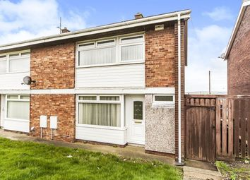 Thumbnail 3 bed semi-detached house for sale in Lothian Close, Birtley, Chester Le Street