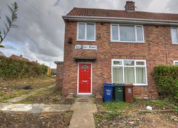 Thumbnail 3 bed semi-detached house for sale in Southmead Avenue, Newcastle Upon Tyne