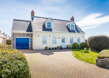 Thumbnail 4 bed detached house for sale in La Planque Lane, Forest, Guernsey