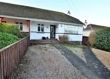 Thumbnail 2 bed semi-detached bungalow for sale in Longstone Road, Paignton, Devon