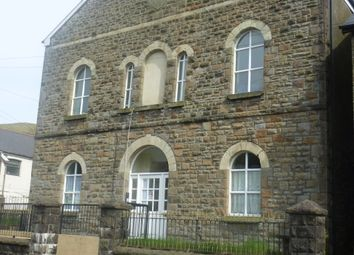 Thumbnail 1 bed flat to rent in Oxford Street, Bridgend