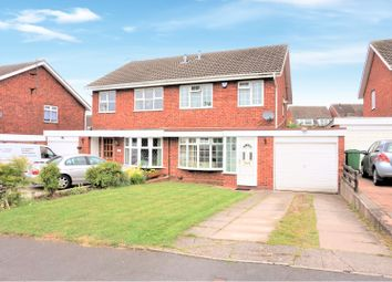 Thumbnail 3 bedroom semi-detached house for sale in Chaffinch Close, Dudley