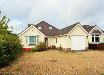 Thumbnail 5 bed detached bungalow for sale in Brook Lane, Sarisbury Green, Southampton