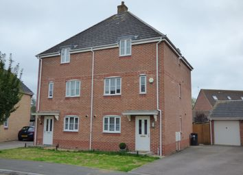 Thumbnail Semi-detached house to rent in Dragonfly Road, Swindon