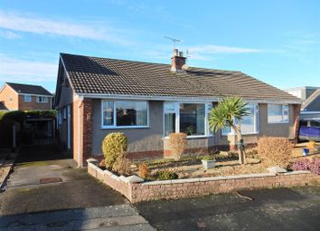 Thumbnail 2 bed semi-detached bungalow for sale in Ellwood Avenue, Morecambe