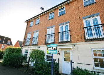 Thumbnail 3 bed town house to rent in Birchall Close, Stapeley, Nantwich