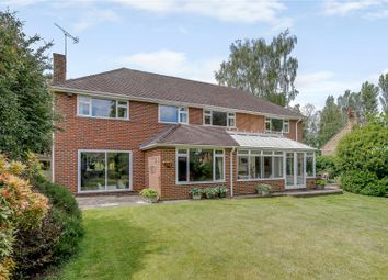Thumbnail 5 bed detached house for sale in Mill Pond Road, Windlesham, Surrey