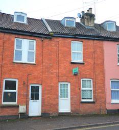 Thumbnail 2 bedroom terraced house for sale in Belmont Road, Tiverton, Devon