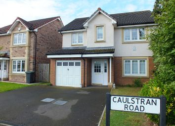 Thumbnail 4 bed detached house for sale in Caulstran Road, Dumfries