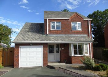 Thumbnail 3 bed detached house for sale in 6, Vyrnwy Crescent, Four Crosses, Llanymynech, Powys