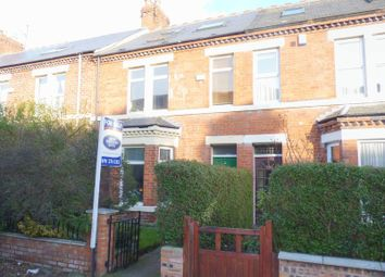 Thumbnail 5 bed terraced house for sale in Kingsley Place, Heaton, Newcastle Upon Tyne