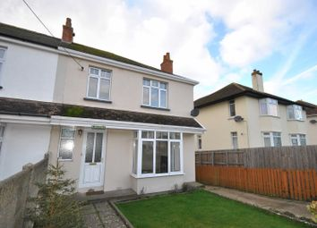 Thumbnail 3 bed end terrace house to rent in Exeter Road, Braunton