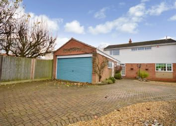 Thumbnail 4 bed detached house for sale in Longford Close, Wigston, Leicester
