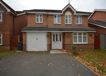 Thumbnail 4 bed detached house to rent in Millfield, Neston, Wirral