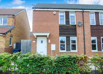 Thumbnail 2 bedroom semi-detached house for sale in Lysander Drive, Walker, Newcastle Upon Tyne