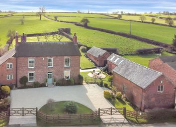 Kirk Langley, Ashbourne, Derbyshire DE6. 4 bed detached house for sale