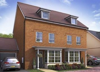 Thumbnail 4 bedroom end terrace house for sale in Woodvale, Cissbury Chase, Worthing, West Sussex