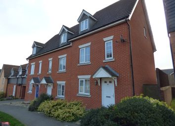 Thumbnail 3 bedroom town house to rent in Phoenix Way, Stowmarket