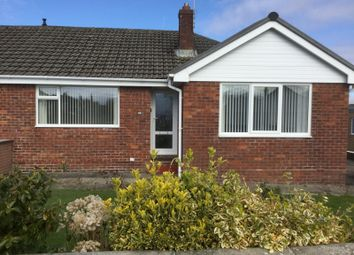 Thumbnail 2 bed bungalow to rent in Seathwaite Road, Barrow-In-Furness