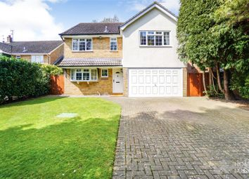 Thumbnail 4 bed detached house for sale in The Hawthorns, Danbury, Chelmsford