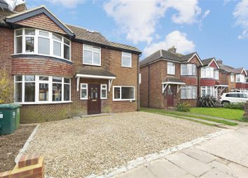 Thumbnail 4 bed semi-detached house for sale in Gaston Way, Shepperton